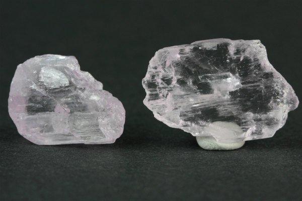 クンツァイト 原石 2個セット 5.1g