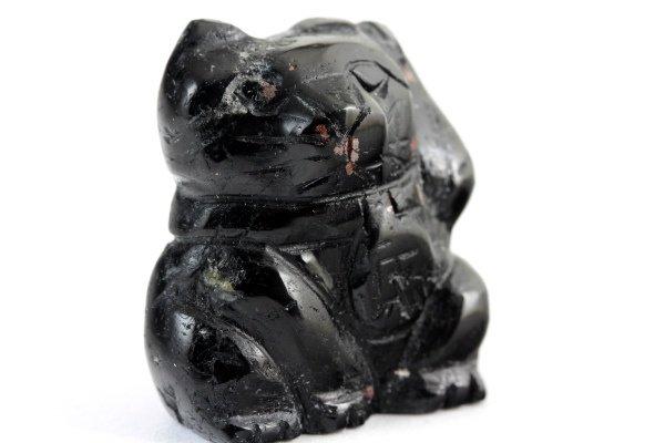 ブラックトルマリン 招き猫 20g