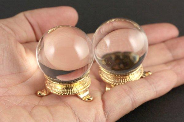 水晶 丸玉 35.0mm