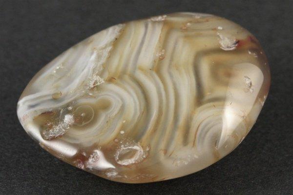 水入り瑪瑙 原石 磨き 39g