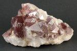 レッドファントム水晶クラスター 738g
