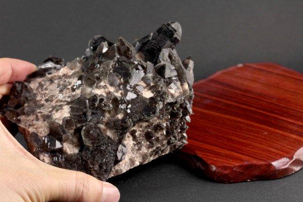 黒水晶 原石 171g
