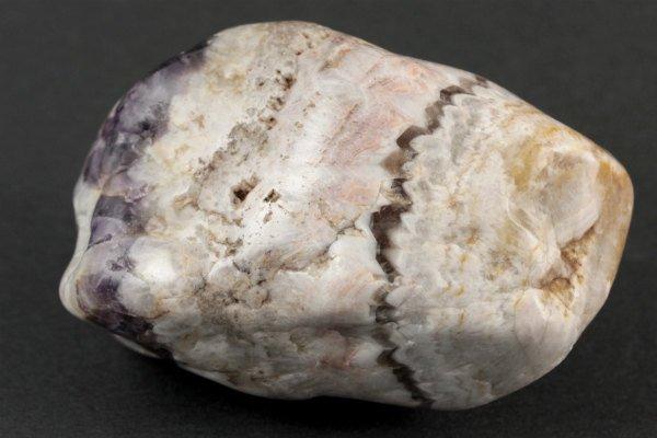 シェブロンアメジスト 原石 磨き 147g