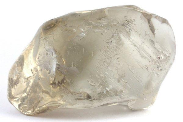 スモーキークォーツ 原石 磨き 126g