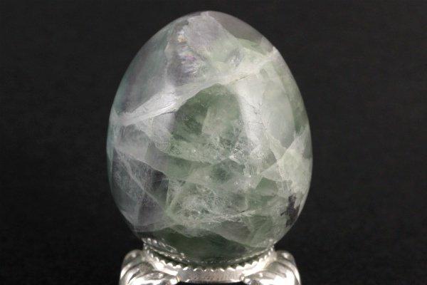 フローライト 卵型 89g