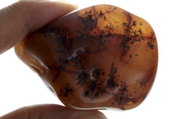 カーネリアン 原石 磨き 310g