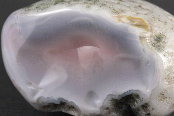 ボツワナアゲート 原石 磨き 232g