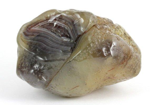 ボツワナアゲート 原石 磨き 218g