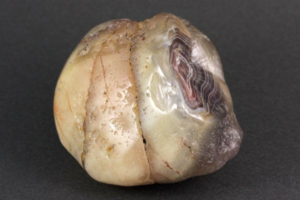 ボツワナアゲート 原石 磨き 275g