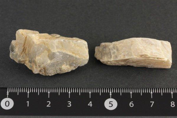 グレームーンストーン 原石 磨き 19.4g