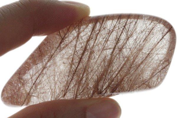 ルチルクォーツ 原石 磨き 83g