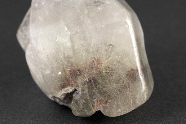 ルチルクォーツ 原石 磨き 63g
