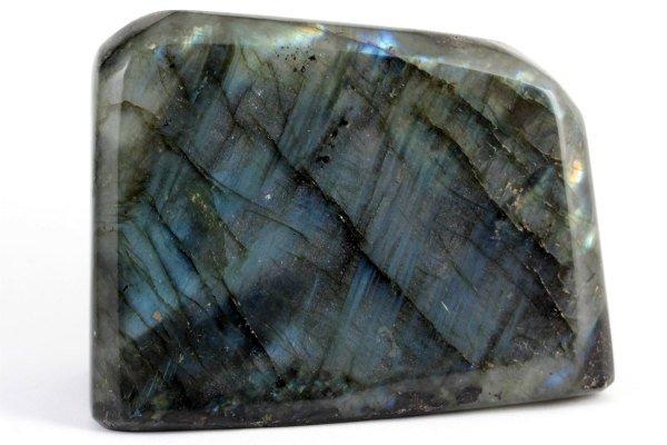 ラブラドライト 原石 磨き 621g