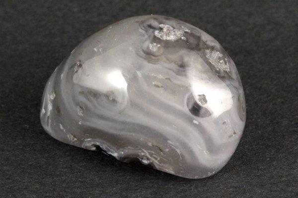 水入り瑪瑙 原石 磨き 33.0g