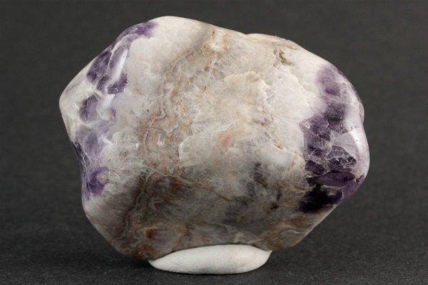 シェブロンアメジスト 原石 磨き 81g