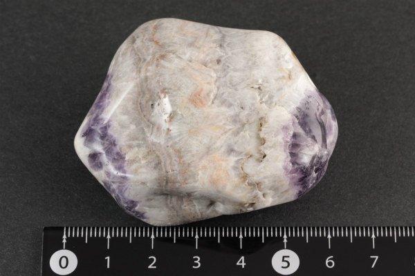 シェブロンアメジスト 原石 磨き 65g