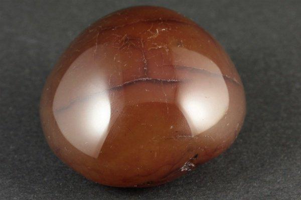 カーネリアン 原石 磨き 90g