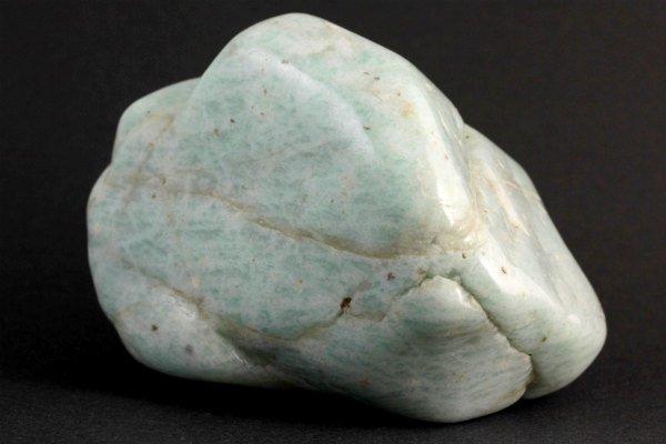 エチオピア産 アマゾナイト 原石 磨き258g