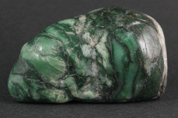 ナミビア産翡翠 (ナミビアンジェイド) 原石 磨き 340g