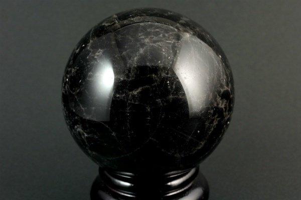 黒水晶 丸玉 89mm
