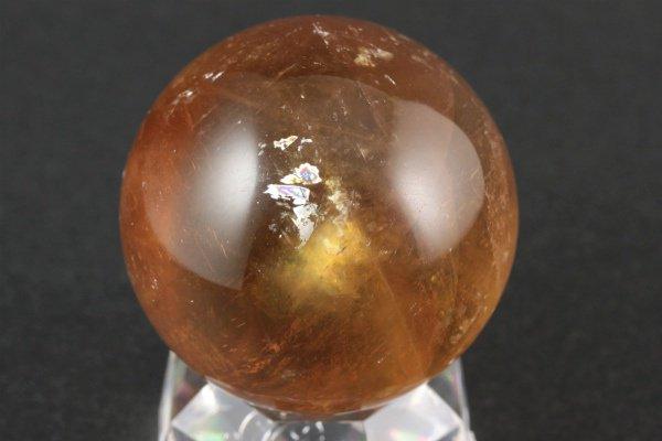 ゴールドカルサイト 丸玉 59mm