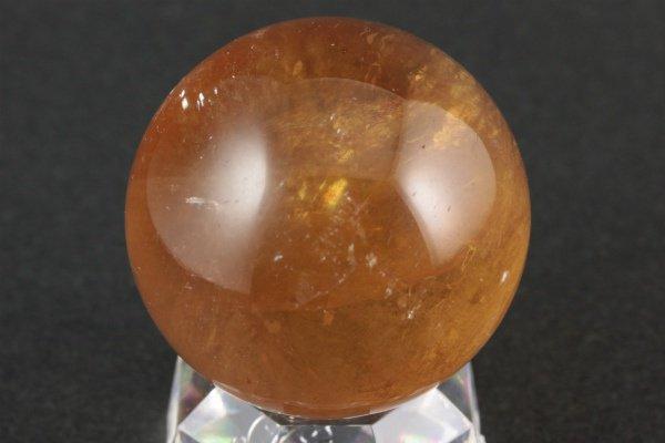 ゴールドカルサイト 丸玉 58.5mm