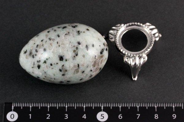 アマゾナイト 卵型 76g