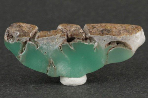 クリソプレーズ 原石 磨き 223g