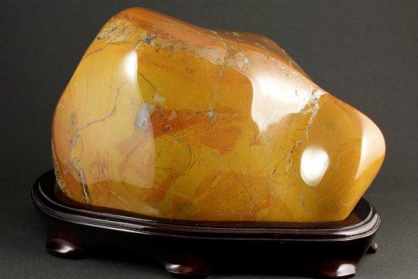 佐渡の赤玉石 置石 4.0kg