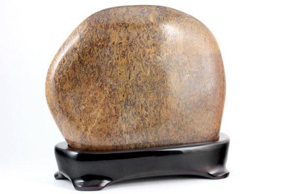 フォッシルジャスパー 置石 1.4kg