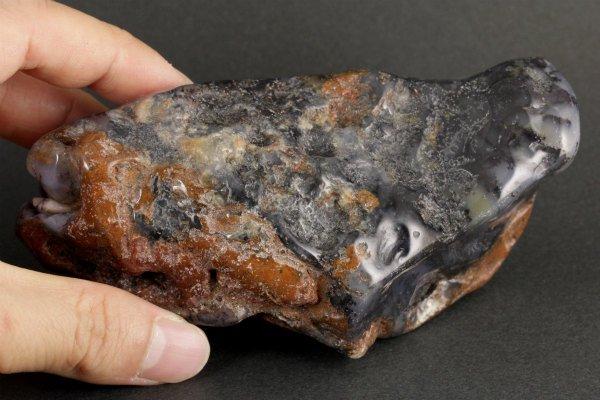 デンドリティックアゲート 原石 磨き 25g