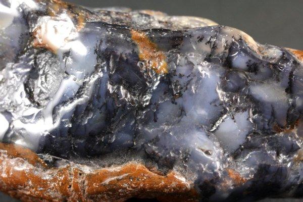 デンドリティックアゲート 原石 磨き 30g