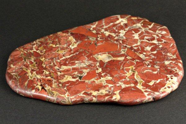 ブレシェイティッド ジャスパー 原石 磨き 256g