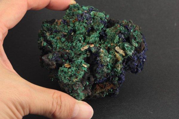 アズライト (藍銅鉱) 原石 164g