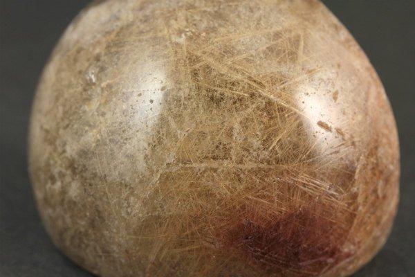 ルチルクォーツ 原石 磨き 47g