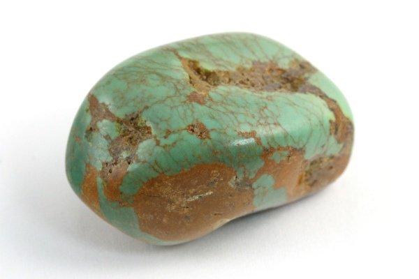 メキシコ産 ターコイズ 原石 磨き 12.9g