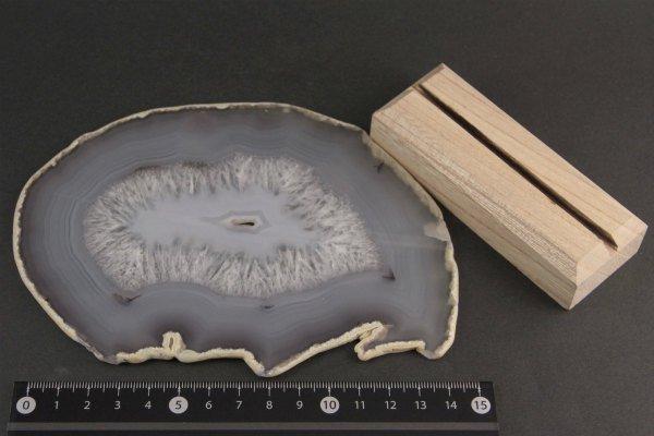 アゲート(生瑪瑙) スライス板 389g
