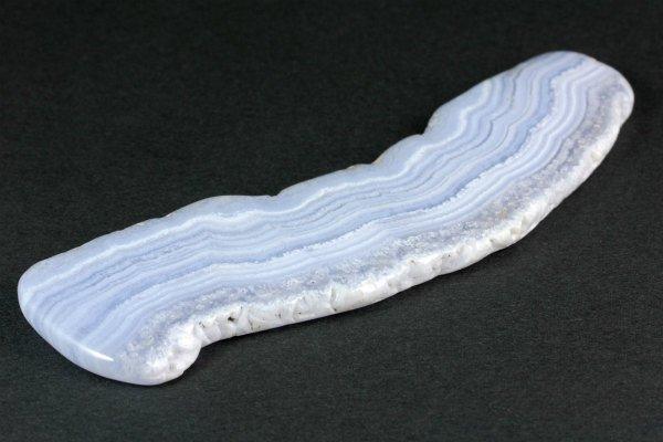 ブルーレースアゲート 原石 磨き 130g