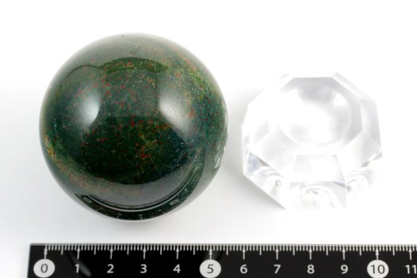 ブラッドストーン丸玉 56.5mm