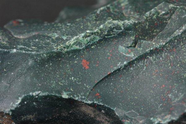 ブラッドストーン 原石 977g
