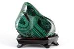 マラカイト (孔雀石) 原石 磨き 1.8kg