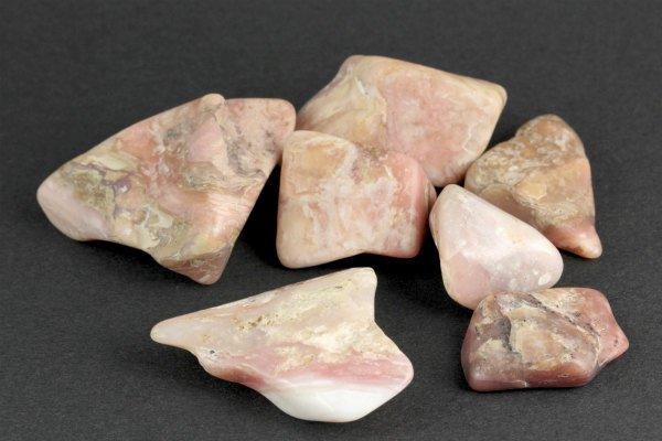 ピンクオパール 磨き石 詰め合わせ 100g