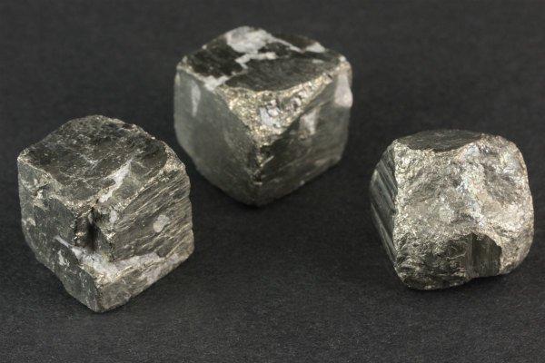 パイライト (黄鉄鉱) 原石 3個セット 54.2g