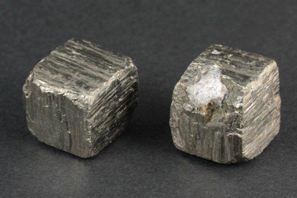 パイライト (黄鉄鉱) 原石 2個セット 49.3g