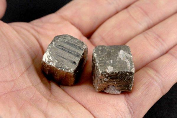 パイライト (黄鉄鉱) 原石 3個セット 54g