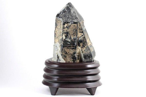 黒水晶 原石 1.29kg