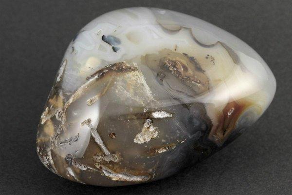 アゲート(瑪瑙) 原石 磨き 160g