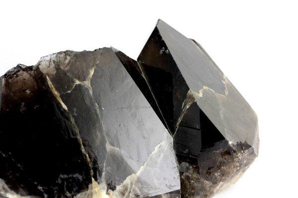 蛭川産黒水晶 原石 629g