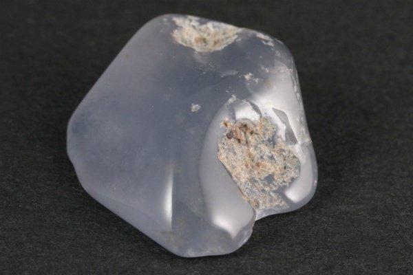 ブルーカルセドニー 原石 磨き 10.6g