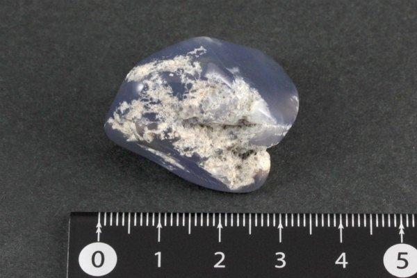 ブルーカルセドニー 原石 磨き 14.0g